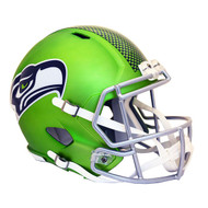 Seattle Seahawks Riddell Replica Full Size Helmet - Blaze Alternate