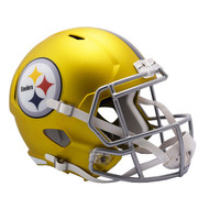 Pittsburgh Steelers Riddell Replica Full Size Helmet - Blaze Alternate