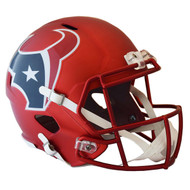 Houston Texans Riddell Replica Full Size Helmet - Blaze Alternate