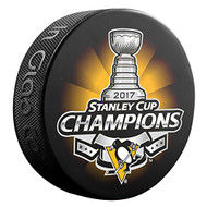 2017 Stanley Cup Champions Pittsburgh Penguins Souvenir Hockey Puck