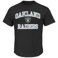 NFL Oakland Raiders Heart & Soul Team Color Men's T-Shirt