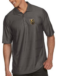 Las Vegas Golden Knights Antigua Gray Performance Illusion Golf Polo T-Shirt
