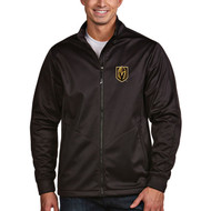 Las Vegas Golden Knights Men's Black Full-Zip Golf Jacket