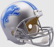 Detroit Lions Riddell Full Size Replica Helmet - New 2017