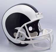 Los Angeles Rams Riddell Full Size Replica Helmet - New 2017 Logo