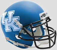 Kentucky Wildcats Alternate Matte Royal Schutt Authentic Mini Helmet