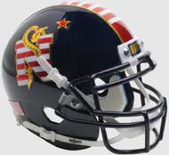 Navy Midshipmen Alternate Dont Tread on Me Schutt Mini Authentic Helmet