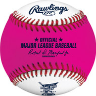 12 - 2017 MLB All-Star Game Rawlings Official Pink Home Run Derby Moneyball Baseballs In Cubes (Dozen)