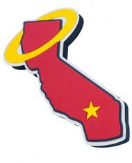 California Angels Throwback 3D Fan Foam Logo Sign