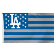 MLB Los Angeles Dodgers American Flag 3x5 Banner