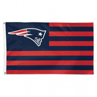 New England Patriots NFL American Flag 3 foot by 5 Foot