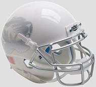 Missouri Tigers Alternate White Metallic Silver Schutt Mini Authentic Helmet