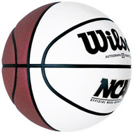 Wilson NCAA Full Size Autograph Basketball with 4 White Panels