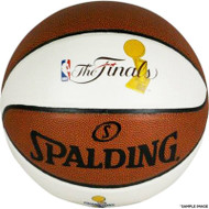 Spalding Golden State Warriors 2017 NBA Finals Champions White Panel Basketball - Limited Edition of 5,000