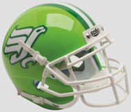 North Texas Mean Green Flying Worm Schutt Mini Authentic Helmet