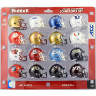 2017 NCAA ACC Pocket Pro Speed Revolution Mini Helmets Set by Riddell