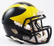 Michigan Wolverines NCAA Riddell Speed Mini Helmet