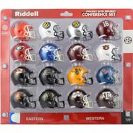 2017 NCAA SEC Pocket Pro Speed Revolution Mini Helmets Set by Riddell