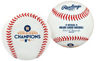 2017 MLB World Series Houston Astros Champions Collectible Souvenir Replica Baseball by Rawlings