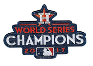 MLB Houston Astros 2017 World Series Champions Collectors Patch