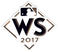 MLB 2017 World Series Collectors Patch