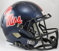 Mississippi (Ole Miss) Rebels SPEED Riddell Full Size Replica Helmet