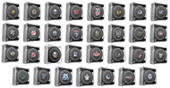 All 31 NHL Sherwood 2017-18 Official NHL Game Pucks