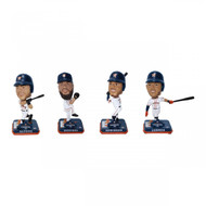MLB Houston Astros 2017 World Series Champions Mini Bobbleheads 4-pack Set