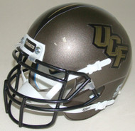 Central Florida Golden Knights Pewter Schutt Mini Authentic Helmet