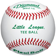Flex-Ball Low Impact Safety Little League Tee Balls for Kids Baseball (3-Pack)