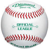 Flex-Ball Low Impact Safety Official League Tee Balls for Kids Baseball (3-Pack)