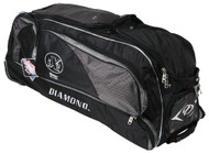 "Diamond GBox Baseball/Softball Wheeled Gear Box 38"" x 12"" x 15"" (Black)"