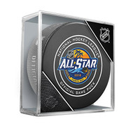2018 NHL All-Star Game (Tampa Bay, FL.) Sherwood Official NHL Game Puck in Cube