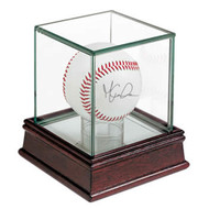 Ultra Pro Glass Single Baseball / Hockey Puck Display Case