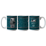 Philadelphia Eagles 15 oz. Coffee Mug Super Bowl Champions with Score
