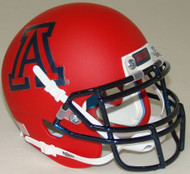 Arizona Wildcats Matte Scarlet Schutt Mini Authentic Helmet