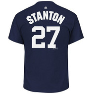 Giancarlo Stanton New York Yankees #27 Youth Player Name & Number T-Shirt