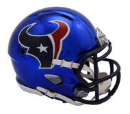 Houston Texans Speed Riddell Replica Full Size Helmet - Chrome Alternate