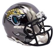 Jacksonville Jaguars Speed Riddell Replica Full Size Helmet - Chrome Alternate