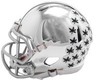 Ohio State Buckeyes Alternate Chrome NCAA Riddell Speed Mini Helmet