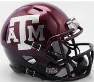 Texas A&M Aggies NEW 2018 Two Tone NCAA Riddell SPEED Mini Helmet
