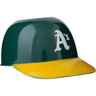 Oakland Athletics MLB 8oz Snack Size / Ice Cream Mini Baseball Helmets - Quantity 6