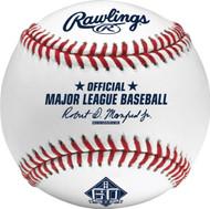San Francisco Giants 60th Anniversary Commemorative MLB Official Baseball in Box
