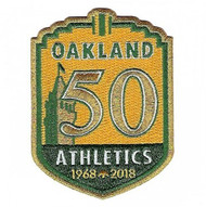 2018 Oakland A's 50th Anniversary Collectible Patch