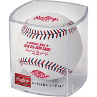Rawlings 2018 MLB All‑Star Game Logo Baseball with Cubed Case