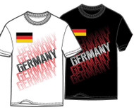 Germany Full Anthem Away Jersey Soccer Adult Men's Tee Shirt FIFA World Cup T-Shirt