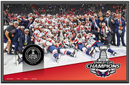 Sherwood 2018 Washington Capitals Stanley Cup Champions Collectible Wall Plaque with Team Image and Game Puck