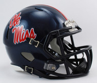Mississippi (Ole Miss) Rebels NCAA Riddell SPEED Mini Helmet