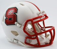 North Carolina State Wolfpack NCAA Riddell SPEED Mini Helmet