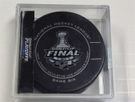2012 NHL Stanley Cup Playoff Sherwood Official Game Puck (Game Six)
